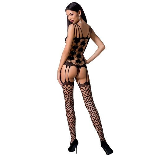 PASSION WOMAN BS067 BODYSTOCKING NEGRO TALLA UNICA