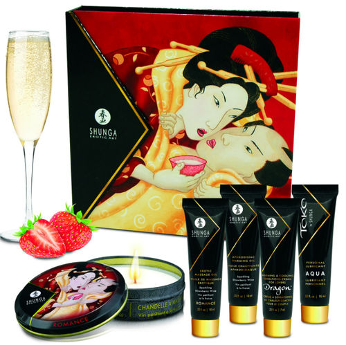 KIT SECRET GEISHA FRESA CHAMPAGNE