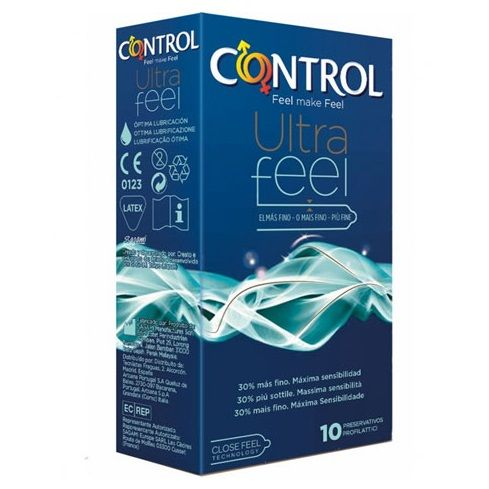 CONTROL ADAPTA ULTRA FEEL 30% MÁS FINO 10UDS