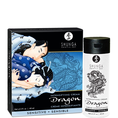 DRAGON CREMA SENSITIVE PARA PAREJAS