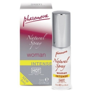 PERFUME CON FEROMONAS NATURAL SPRAY WOMAN INTENSO 5ML